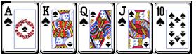 jackpot super royal flush poker